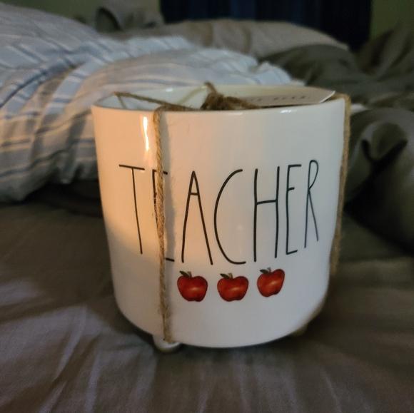 Rae dunn teacher planter